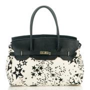 LaFiore24 Handtasche Schultertasche Italy, Leder...