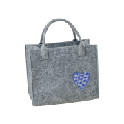 LaFiore24 Filztasche Handtasche Tragetasche Shopper...