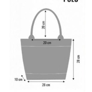 LaFiore24 Filztasche Einkaufstasche Damen Shopper Henkeltasche Allzweck Handtasche Maschinenwaschbar bis 30 Grad