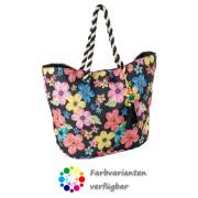 LaFiore24 Shopper Einkaufstasche Blumen Strandtasche...