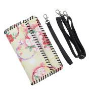 LaFiore24 Clutch Smartphone Tasche Leder Smartphone...