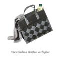 LaFiore24 Filztasche Einkaufstasche Damen Shopper Henkeltasche