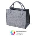 LaFiore24 Hochwertige Filztasche Einkaufstasche Festivalbag