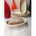 LaFiore24 Gärkorb Brotkorb Körbchen oval lang Brotform Hefeteig, Nachhaltig aus Peddigrohr verschied. Größen 2 Pfund - 1000 Gramm ca. 37 cm