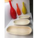 LaFiore24 Gärkorb Brotkorb Körbchen oval lang Brotform Hefeteig, Nachhaltig aus Peddigrohr verschied. Größen 4 Pfund - 2000 Gramm ca. 47 cm
