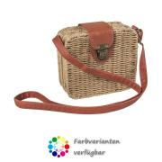 LaFiore24 Korbtasche Schultertasche Damen Shopper Bali...