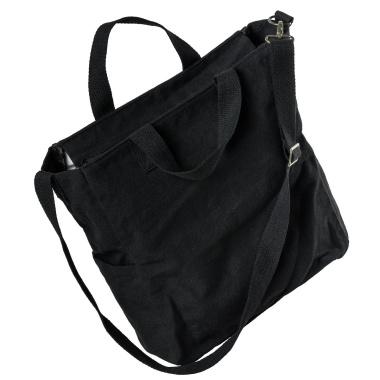 LaFiore24 Shopper Einkaufstasche Damen Strandtasche Sporttasche Schultertasche Henkeltasche Schwarz