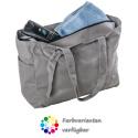 LaFiore24 Damen Shopper Einkaufstasche Strandtasche Sporttasche Schultertasche Henkeltasche