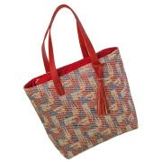 LaFiore24 Damen Einkaufstasche Shopper Schultertasche...