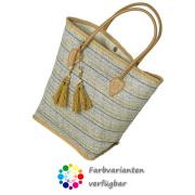 LaFiore24 Damen Einkaufstasche Shopper Strandtasche...