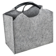 LaFiore24 Filztasche Einkaufstasche Damen Shopper...