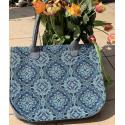 LaFiore24 Filz Tasche Einkaufstasche Shopper Henkeltasche Mosaik Gross  XL