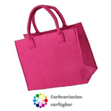 LaFiore24 Filztasche Einkaufstasche Henkeltasche