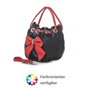 LaFiore24 Italienische  Clutch Handtasche Schultertasche
